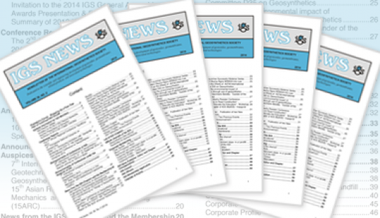 Vol. 32, Issue 2 of the IGS News 2016 is Now Available!